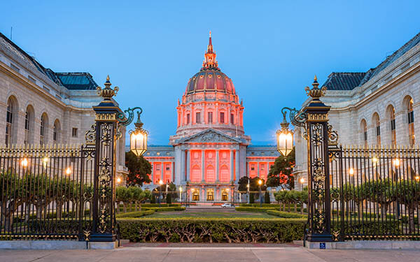 Civic Center in San Francisco